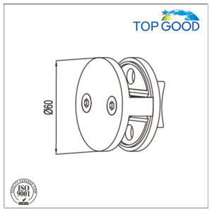 Top Good Quality Double Sides Holding Round Glass Clamp pictures & photos