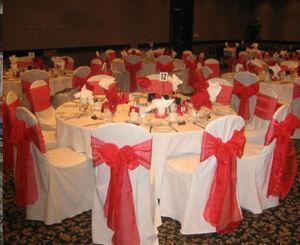 Banquet Chair Cover &Organza Sash - 7