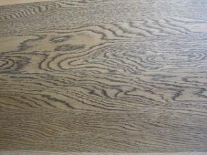 Oak Parquet Flooring Brushed and Black Grains