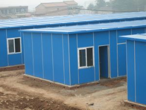 Customized Prefabricated House Used for School House, Staff Quarters pictures & photos