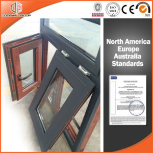 Canada Toronto Client Awning Window Aluminum Clading Solid Wood pictures & photos