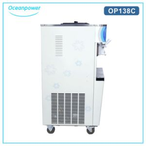 High Quality Restaurant Swirl Snow Ice Cream Machine Op138c pictures & photos