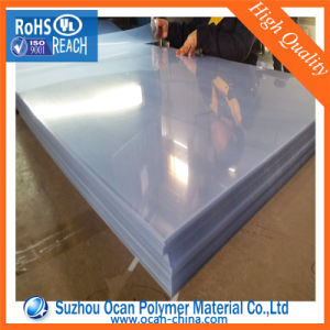 915*1220mm Rigid Clear PVC Sheet with Two PE Protective Film pictures & photos