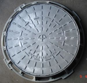 D400 Heavy Duty Cast Ductile Iron Manhole Cover Frame pictures & photos