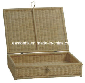 Hotel Natural Color Rattan-Made Laundry Basket pictures & photos
