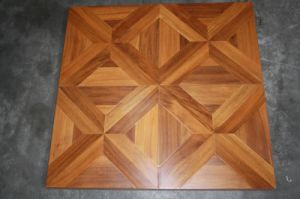 High Quality HDF Parquet Laminated Flooring AC3 E1 pictures & photos