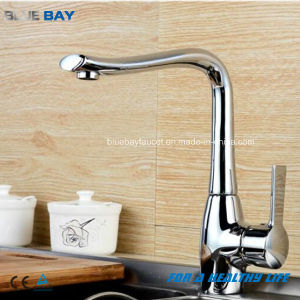2017 Graceful Brass Modern Kitchen Faucet pictures & photos