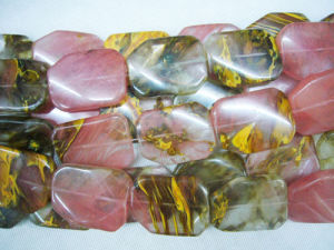 Gemstone-Fire Cherry Quartz Strands