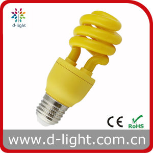 Cute Mini Yellow Half Spiral Light Bulb pictures & photos