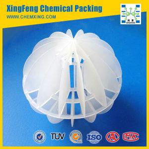 Polypropylene PP PE Polyhedral Hollow Ball Plastic Bio Filter Media pictures & photos