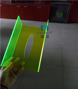 Yellow Fluorescent Polycarbonate Sheet with 100% Virgin Bayer/Lexan pictures & photos