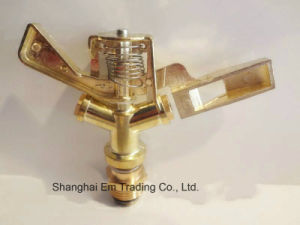 High Quality Metal Garden Irrigation Sprinkler, Plastic Valve pictures & photos