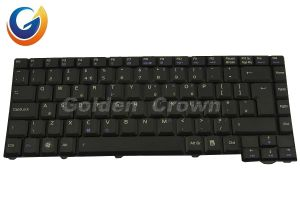 Laptop Keyboard Teclado for Asus F3 Black Layout US UK FR