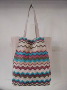 Beach Bag, Fashionable Canvas Bag in Stripe Color pictures & photos