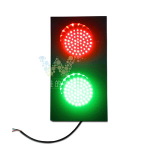 Customized Parking Lots 125mm Red Green LED Traffic Light pictures & photos
