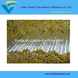 Insulation Glass Wool Pipe with Aluminum Foil pictures & photos