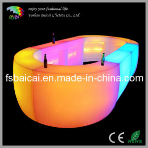 New Product Illuminated Modern LED Bar Counter