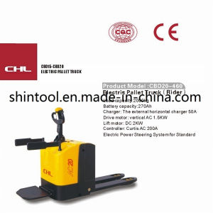 Electric Hydraulic Pallet Trucks Cbd20-460 2.0 Ton pictures & photos