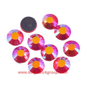 10gross 1440PCS Ss6 Siam Ab Colour Crystal Hotfix Iron on Heat Transfer Flatback Rhinestone pictures & photos