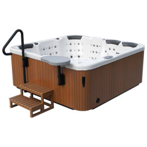 Europe 162 Jets Whirlpool Bathtub Outdoor Jacuzzi pictures & photos