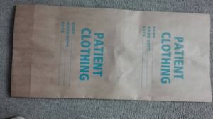 Patien Clothe Bag Environmental Friendly Refuse Bag Hospital Waste Disposal Paper Bag pictures & photos