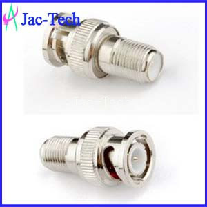 Adapter Connector BNC Jack to F Plug