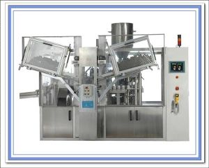 Aluminium Tube Filling and Sealing Machine (GZ 05) pictures & photos