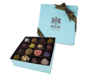 Custom Printed Chocolate Boxes with Color Printing Fp600156 pictures & photos