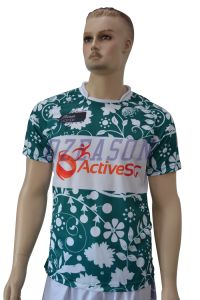 Polyester Dry Fit Custom Made Camo Printed Round Neck T Shirt pictures & photos