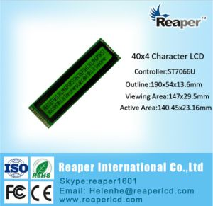 Character LCD Module Yellow Green 4002 COB Character LCD Display pictures & photos