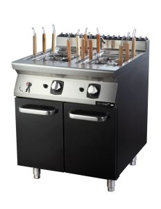 Commercial Gas Pasta Cookers with Cabinet ---Double Tanks (FG7X2B0YN) pictures & photos