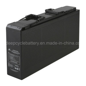 12V 150ah VRLA AGM Front Terminal Gel Battery for Telecom and Solar Power pictures & photos