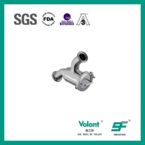 Food Grade Sanitary Stainless Steel Clamped U-Type Tee pictures & photos