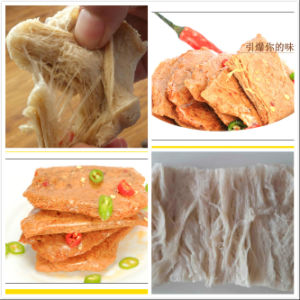 Soya Textured Vegetable Protein Machine. pictures & photos