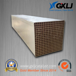 Ceramic Honeycomb Substrate Catalyst for Industrial Exhaust Gas Purification pictures & photos