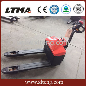 High Quality 1.5 Ton Electric Pallet Truck with 24V Battery pictures & photos