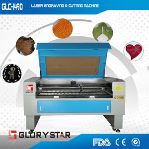 Glc-1490 100watt Laser Cutting and Engraving Machine for Textile pictures & photos