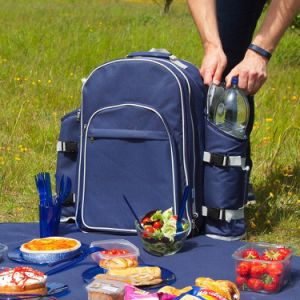 Custom Wine Beer Picnic Insulated Lunch Box Cooler Bags/Backpack for Adults pictures & photos