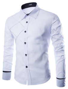 New Shirts Long-Sleeved Men Shirt Down Casual Slim Fit Shirt pictures & photos