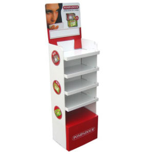 Custom Printed Corrugated Paper Shelf Display Box pictures & photos