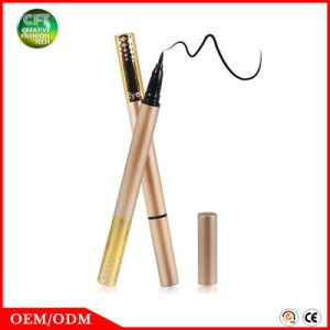 Free Sample Cosmetic Private Label High Pigment Makeup Black Eyeliner Pencil pictures & photos