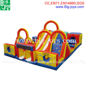 Giant Inflatable Obstacle Course, Interesting Complicate Inflatable Obstacle pictures & photos