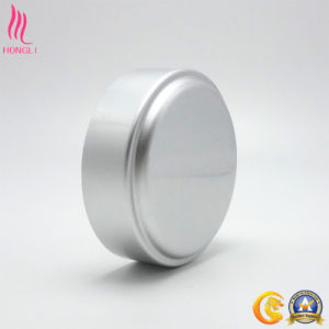 Silver Aluminum Lids for Cosmetic Skin Care Packaging pictures & photos