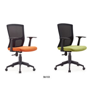 Office Furniture Middle Back Staff Swivel Mesh Computer Chair Office Chair pictures & photos