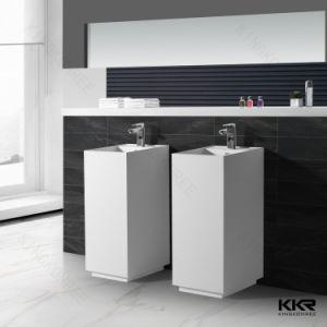 Modern Design Resin Stone Freestanding Wash Basin pictures & photos