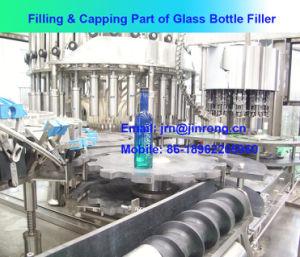 Fully Automatic Glass Bottle Aluminium Cap Beverage Filling Machine pictures & photos