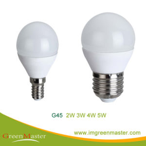 G45 3W Plastic Aluminum LED Bulb pictures & photos
