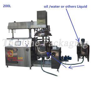 Vacuum Homogenizer-Vacuum Emulsifying Mixer-Emulsifier Mixer Machine pictures & photos