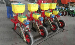 4 Rows Tractor Traction Corn Seeder pictures & photos