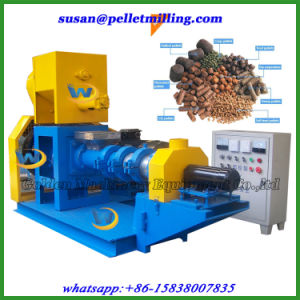 Animal Feed Floating Fish Feed Pellet Making Extruder Machine pictures & photos